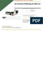 Braun Diaprojektor Paximat Multimag SC 668 Incl. 2,8 85 Mm MC