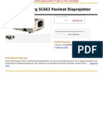 Braun-Nuernberg SC663 Paximat Diaprojektor