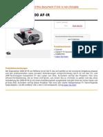 Diaprojektor 2000 AF-IR
