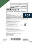 11 5MB3H Unit 3 - Mock Paper
