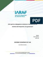 IARAF Minimos en Ganancias