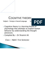 Cognitive Theory Presentation