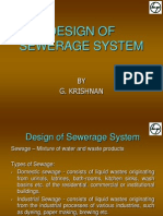 Design of Sewerage System