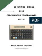 Apostila Curso Hp 12c - Cursos Juninos Inesul - 2011 - Com Respostas
