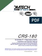 Redundancy Switch CRS180