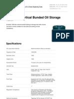 Oil Tanks - 1300 Litre