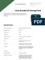 Domestic Oil Tanks - 2500 Litre