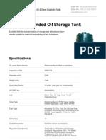 Domestic Oil Tanks