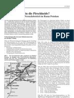1500V-Versuchsbetrieb Im Raum Potsdam