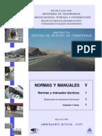Normas y Manuales Tecnicos Para El Inventario Vial