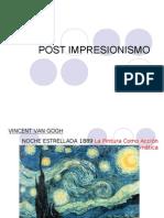 Arte Contemporaneo 2 POST IMPRESIONISMO