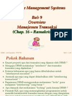 Bab 09 - Overview Man Transaksi
