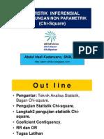 Statistik Kesehatan - Uji Chi Square, RR dan OR