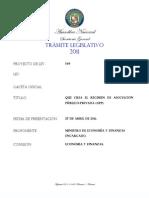 proyecto de ley nº 349