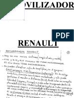 Inmovilizador Renault A