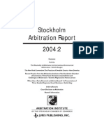 ICSID UNCITRAL Investment Arbitration - Swembalt vs. Latvia - Farouk Yala