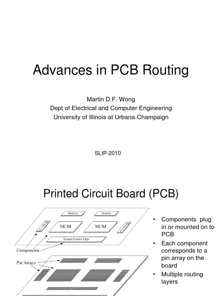 3-1 | Printed Circuit Board | Routing