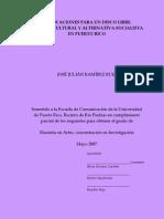 DISLOCACIONES PARA UN DISCO LIBRE, POLÍTICA CULTURAL Y ALTERNATIVA SOCIALISTA EN PUERTO RICO