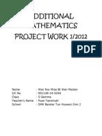 add math folio 2012