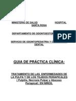 Guia Dolor Pulpar Niños (Hospital Santa Rosa)