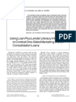Using Loan Plus Lender Literacy Information to Combat One-Sided Marketing of Debt Consolidation Loans