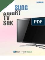 Samsung TV SDK Manual