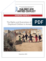 The Rights and Guarantees of Internally Displaced Children in Armed Conflict