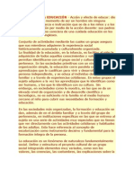 CIENCIAS DE LA EDUCACIÓN Pedagogia