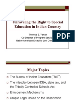 Current Cases & Themes in Region 5 States Related to BIE Schools & Compliance with IDEA & the Role of the P&A