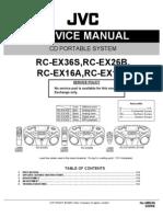 Jvc Rc Ex36s Rc Ex26b Rc Ex16a Rc Ex16b