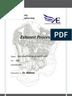 Exhaust Process