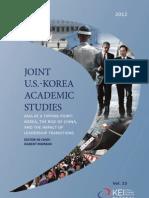 Joint U.S.-Korea Academic Studies