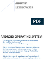 Optimized Android Browser