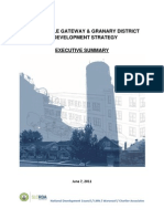 Salt Lake City's Granary District and West Temple Gateway Redevelopment Strategy