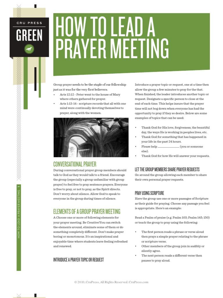Prayer Meeting | Epistle To The Colossians | Prayer