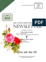Hill Church Newsletter June 2012