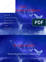 EL AGUA (H2O) Diaspositivas