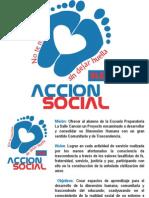 Accion Social Mision, Vision, Objetivos