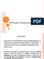 Project Insurance