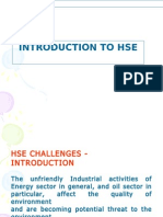 Hse Challenges Unit I & II