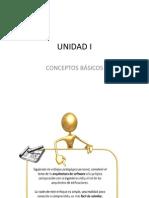 UNIDAD I Conceptos
