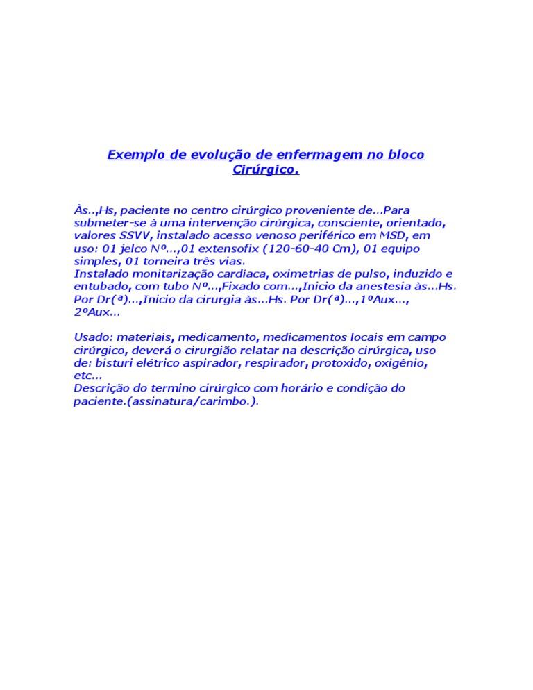 Exemplo relatorio tecnico simples