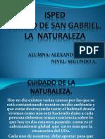 CUIDADO DE LA NATURALEZA