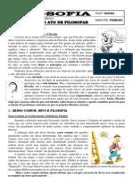 Apostila de Filosofia - 1ª série - Ensino Médio - 1º Bimestre