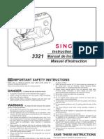 Singer 3321 Manual