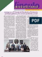Vinculo Universitario - Mayo 2012