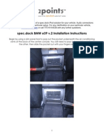 BMW iPod Dock Instructions - 2point5 Spec.dock E39