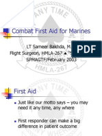 Combat Firstaid Marines
