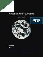 Whole Earth Catalog 1968