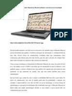 O Futuro Do Educador Musical No Brasil, Mediante o Uso Das Novas Tecnologias